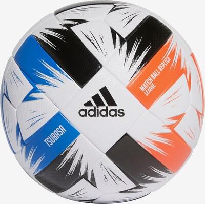 ADIDAS PERFORMANCE Ball in blau / dunkelorange / schwarz / weiß, Produktansicht