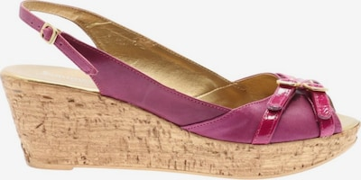 Sommerkind Wedges Sandaletten in 38 in lila / pink, Produktansicht