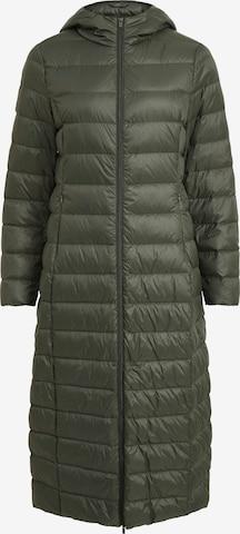 VILA Płaszcz zimowy 'Manya' w kolorze zielony