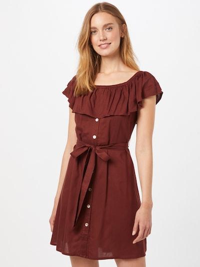 ABOUT YOU Kleid 'Suzi' in rostrot, Modelansicht