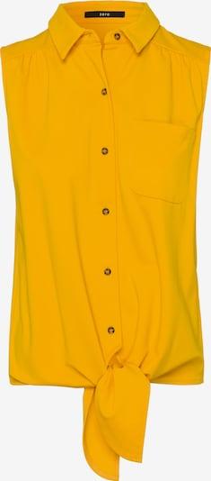 zero Blusentop in gelb, Produktansicht