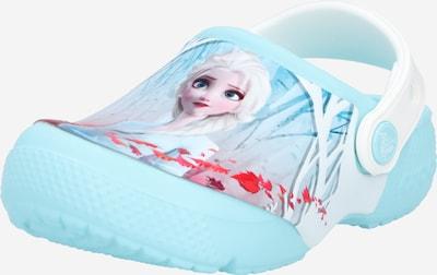 Crocs Sandale 'Disney Frozen 2' in hellblau / mischfarben / rot / weiß, Produktansicht