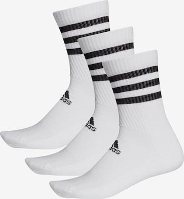 Chaussettes de sport ADIDAS PERFORMANCE en blanc