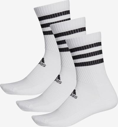 ADIDAS PERFORMANCE Chaussettes de sport en noir / blanc, Vue avec produit