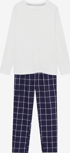 MANGO KIDS Pyjama 'Pablo 7' in royalblau / weiß, Produktansicht