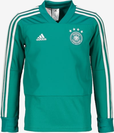 ADIDAS PERFORMANCE Sweatshirt in jade: Frontalansicht