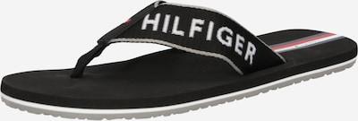 TOMMY HILFIGER Séparateur d'orteils en rouge / noir / blanc, Vue avec produit