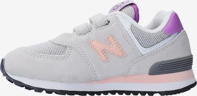 new balance Sneaker in hellgrau / lila / rosa, Produktansicht
