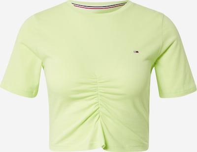 Maglietta Tommy Jeans di colore verde chiaro, Visualizzazione prodotti