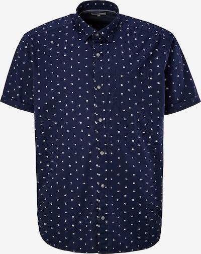 s.Oliver Overhemd in de kleur Donkerblauw / Wit, Productweergave