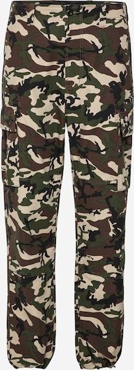 Pantaloni cu buzunare 'EAGLE BEND' DICKIES pe bej / maro / verde / negru, Vizualizare produs