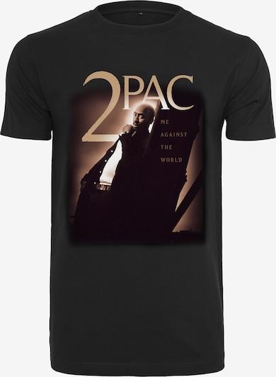 Mister Tee T-Shirt en or / noir: Vue de face
