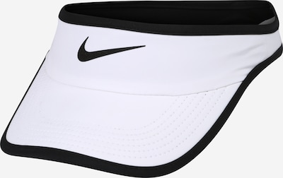 NIKE Visor in schwarz / weiß, Produktansicht