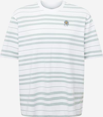 LEVI'S Bluser & t-shirts i pastelgrøn / hvid, Produktvisning