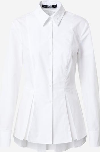 Karl Lagerfeld Chemisier en blanc, Vue avec produit