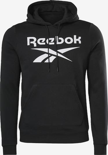 Reebok Sport Sweat de sport 'Identity' en noir / blanc, Vue avec produit