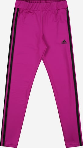 ADIDAS PERFORMANCE Sports trousers in Purple