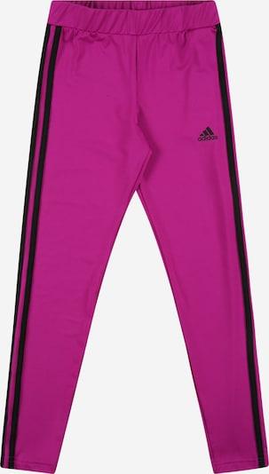 ADIDAS PERFORMANCE Sporthose in lila / schwarz, Produktansicht