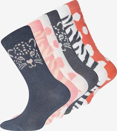 EWERS Skarpety w kolorze brązowy / miedziany / różany / białym, Podgląd produktu