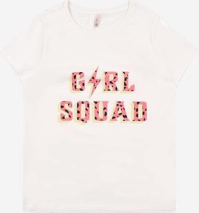 KIDS ONLY T-Shirt en opal / jaune / saumon / noir, Vue avec produit