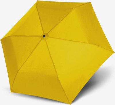 Doppler Regenschirm in gelb, Produktansicht