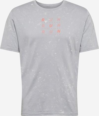UNDER ARMOUR Sporta krekls pelēks / persiku, Preces skats