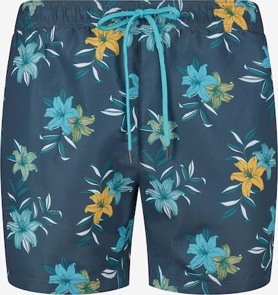 Skiny Шорти за плуване в синьо / нощно синьо / светлосиньо / тъмножълто / бяло, Преглед на продукта