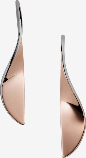 SKAGEN Ohrringe in rosegold / silber, Produktansicht