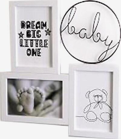 Tawo Bilderrahmen 'Baby' in schwarz / transparent / weiß, Produktansicht