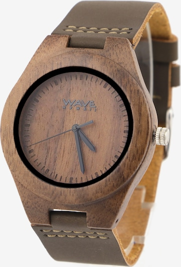Wave Hawaii Holz-Armbanduhr ' Walnuss ' in braun, Produktansicht