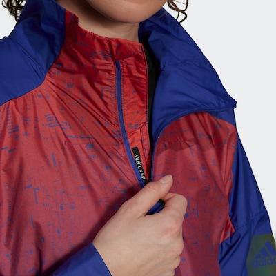 ADIDAS PERFORMANCE Outdoor jakna 'Myshelter' u plava / svijetloljubičasta / lubenica roza, Pregled proizvoda