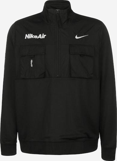 NIKE Sportjas ' Air ' in de kleur Zwart / Wit, Productweergave