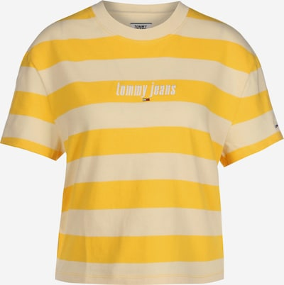 Tommy Jeans T-Shirt in gelb, Produktansicht