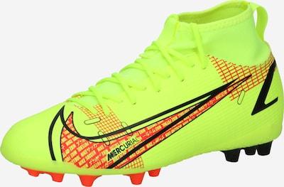 NIKE Futbola apavi 'Mercurial 8 Academy AG', krāsa - neonzaļš / sarkans / melns, Preces skats
