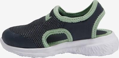 Hummel Sneaker in dunkelblau / pastellgrün, Produktansicht