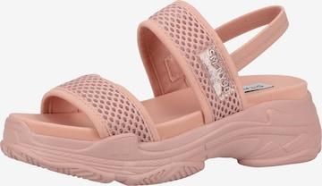 STEVE MADDEN Sandale in Pink