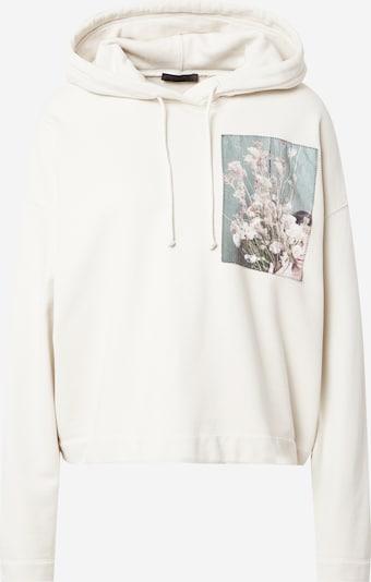 DRYKORN Μπλούζα φούτερ 'LIVELA' σε ανάμεικτα χρώματα / offwhite, Άποψη προϊόντος