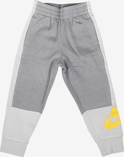 Nike Sportswear Workout Pants in Yellow / Grey, Item view