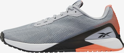 REEBOK Sportschoen 'Nano X1' in de kleur Grijs / Sinaasappel / Zwart, Productweergave