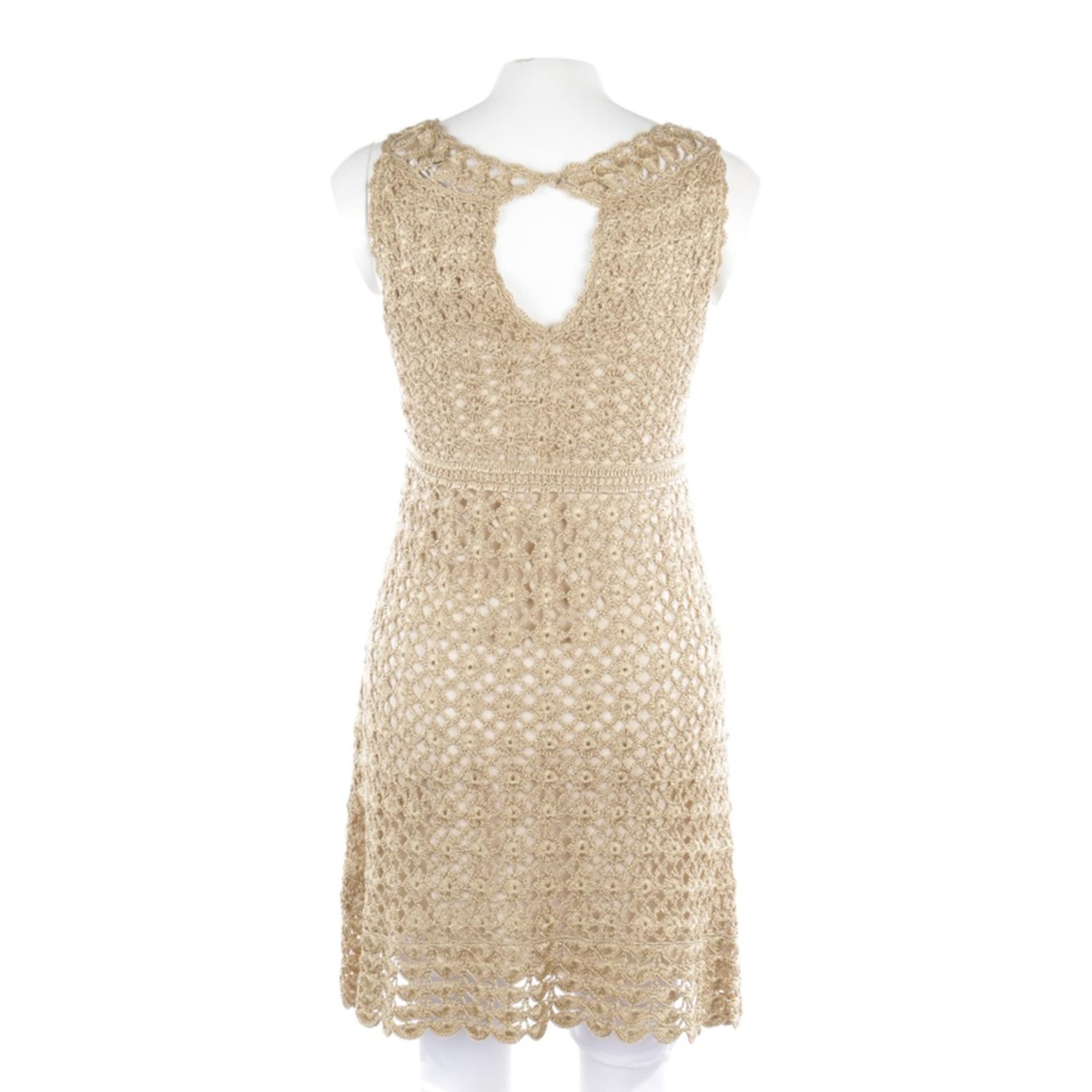 Diane von Furstenberg Kleid in gold