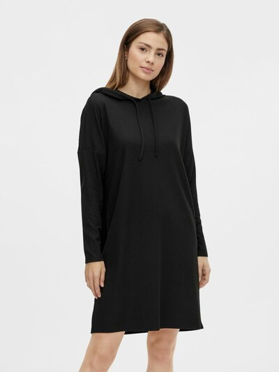 PIECES Dress 'Ribbi' in Black, View model