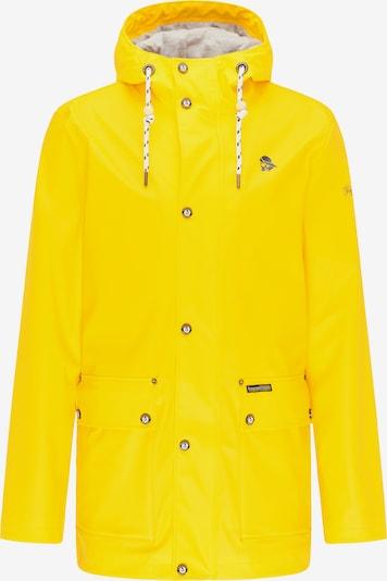 Schmuddelwedda Tussenjas in de kleur Geel, Productweergave