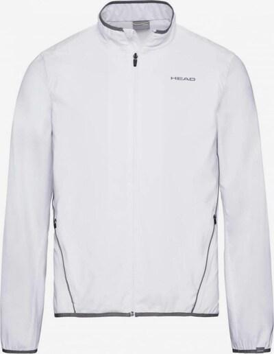 HEAD Jacke in grau / weiß, Produktansicht