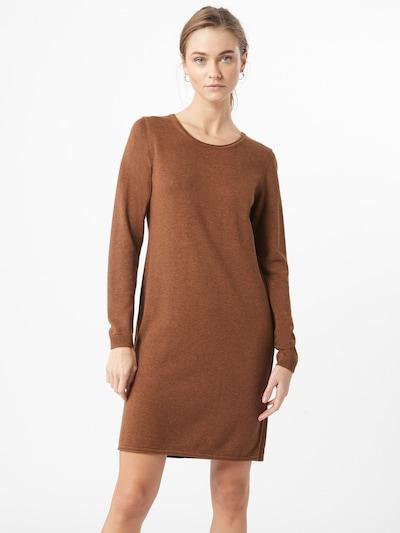 EDC BY ESPRIT Pletené šaty - hnedá, Model/-ka