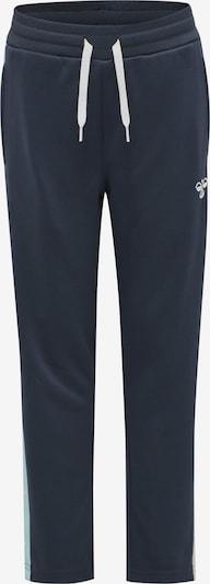 Hummel Pants in türkis / dunkelblau / weiß, Produktansicht