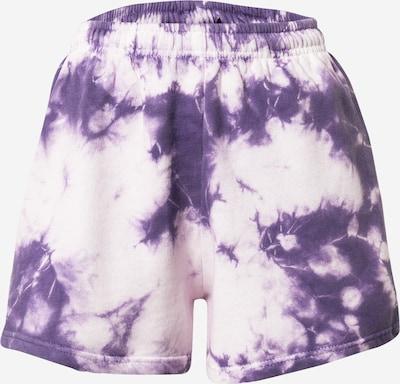 Daisy Street Trousers 'LAYLA' in light purple / white, Item view