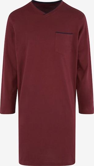 SEIDENSTICKER Pyjama lang in de kleur Bordeaux, Productweergave