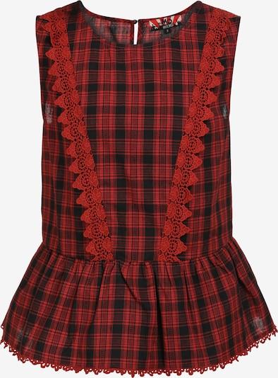 myMo ROCKS Top in de kleur Rood / Zwart, Productweergave