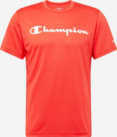 Champion Authentic Athletic Apparel Functioneel shirt in de kleur Rood / Wit, Productweergave