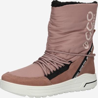 ECCO Snowboots in de kleur Rosé / Zwart / Wit, Productweergave